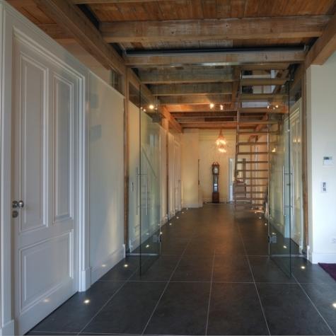 opdracht verbouw interieur woonboerderij status opgeleverd augustus 2010 beschrijving
